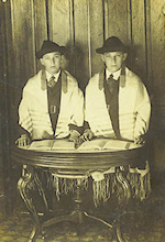 Ned and Milton Lipshutz Bar Mitzvah 1920