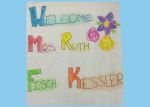 Welcome Mrs. Ruth Fisch Kessler