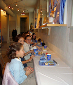 Hebrew Academy Students enjoy Chanukah treats at the Museum
