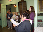 Cumberland County Jewish Federation celebrating Chanukah at the Museum with Songs